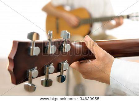 Gitarre Lektion