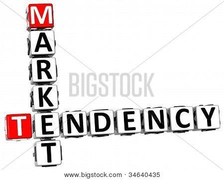 3D Tendency Market Crossword