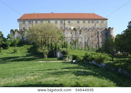 Castle in siklos hungary