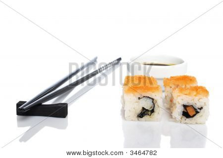 Sushi And Soy Sauce