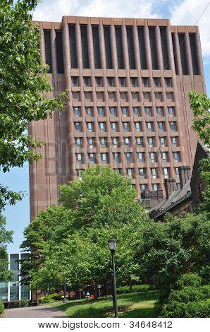 Yale University's Kline Biology Tower