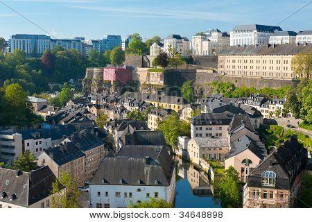View On Grund, Luxembourg