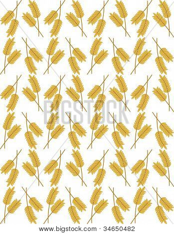Wheat Ears Seamless Background