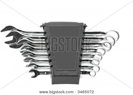 Chrome Vanadium Wrench Set