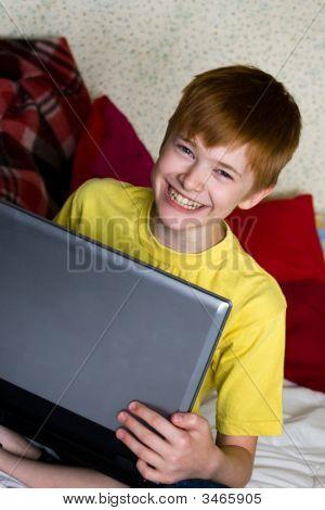 Smiling Teenage