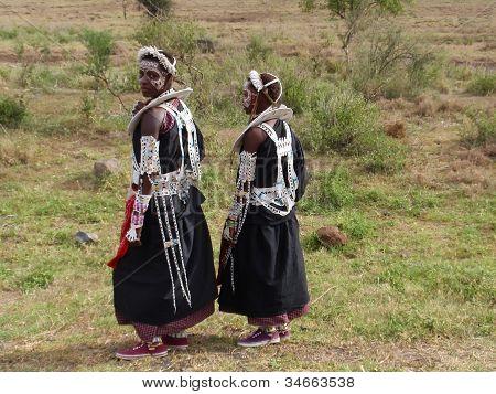Maasai Girls