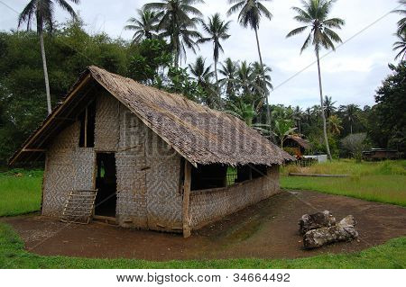 Village Church In Papua New Guinea