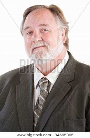 Confident Adult Man Smiling