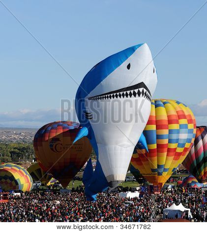 International Balloon Fiesta 2011