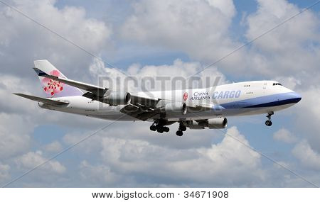 China Airlines Heavy Cargo Jet