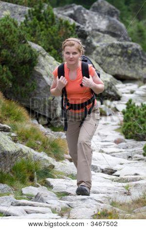 Female Trekker