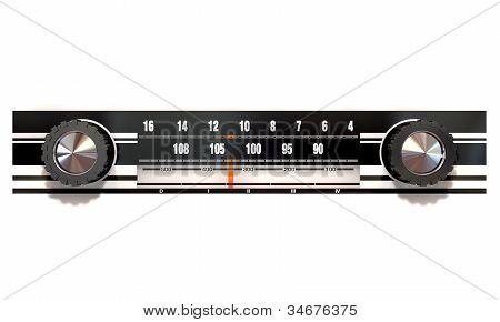 Vintage Radio Face