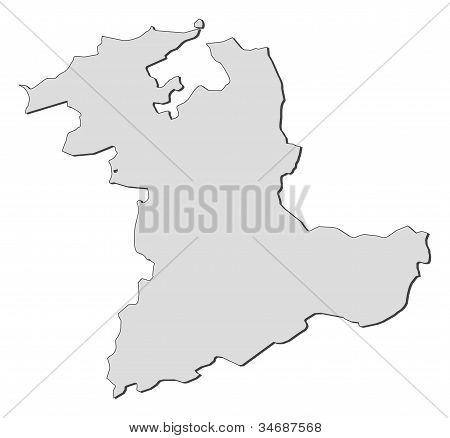 Map Of Bern (switzerland)