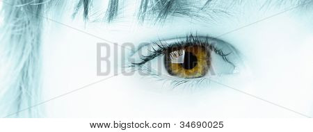 Children Eye Closeup