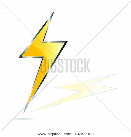 Lightning Bolt Vector Illustration