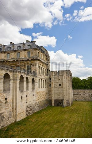 Vincennes Castle wall