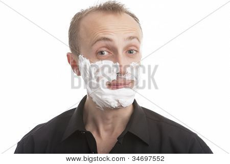 Man Before Shaving