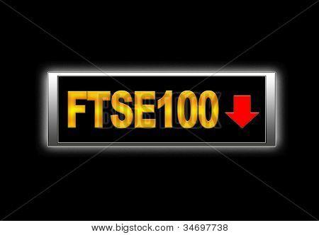 Ftse100 Negative.