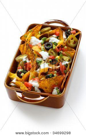 nachos, tex-mex cuisine