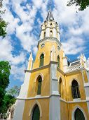 Thai Temples That Have Been Inspired By Gothic Architecture And Imitate Christian Churches,was Built poster