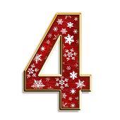 Christmas Isolated Four
