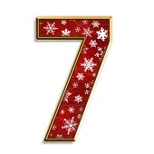 Christmas Isolated Seven