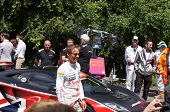 F1 champion McLaren driver Jensen Button