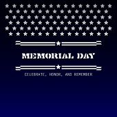 Memorial Day - Celebrate, Honor And Remember, Vector Concept Design Illustration. poster
