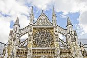 The Westminster Abbey, London poster