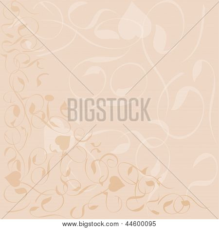 Flower Background Banner Pattern Frame, art illustration