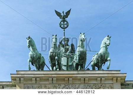 Brandenburg Gate Quadriga Berlin