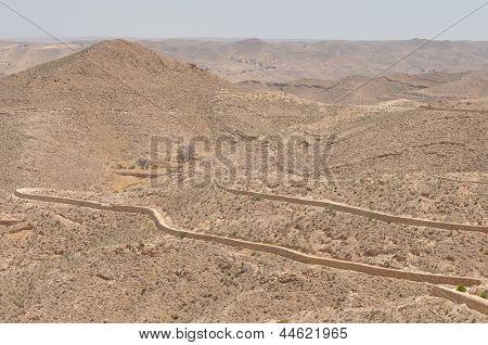Gravel Desert, Tunisia