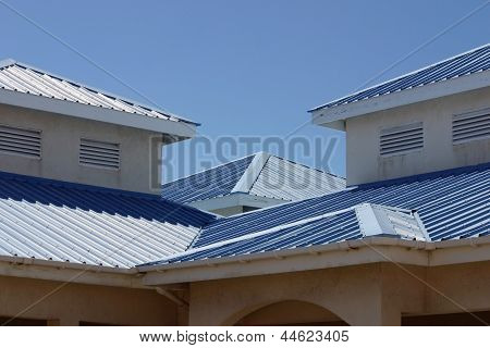 Blue Rooftops