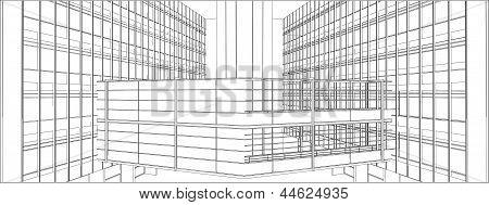 Buildings With Bridge Steel