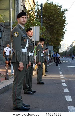 Military cadets
