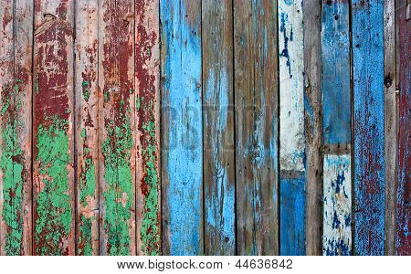 Old Fence Background