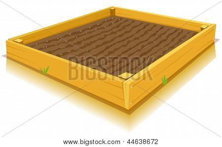 Jardinería pies cuadrados