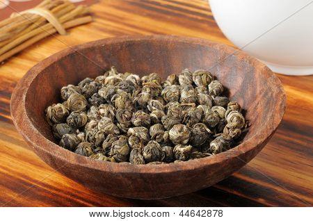 Green Jasmine Tea Pearls