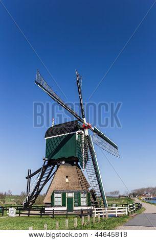 Holländische Windmühle De Bonk