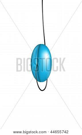 Blue yo yo