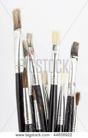 Many Paint Brushes