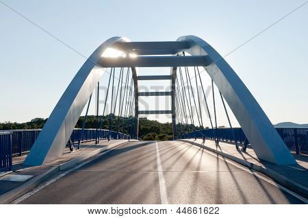 Modern Road Bridge