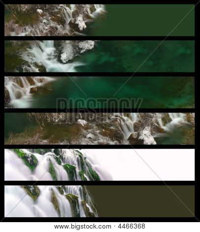Waterfall Banners