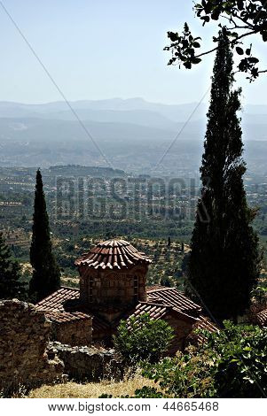 Mystras Landscape