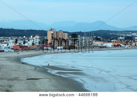 Beach In Algeciras, Andalusia Spain
