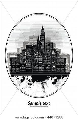 city view - vignette