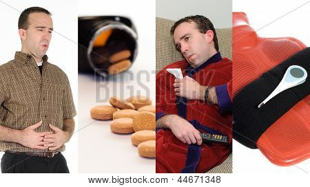 Flu Collage