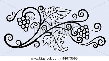 Decorative Grape Ornament