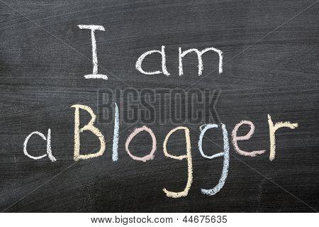 Ich bin ein Blogger