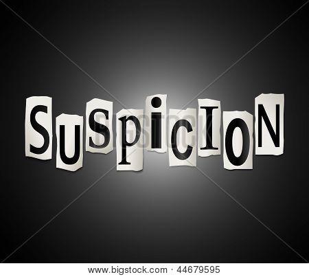 Suspicion Concept.